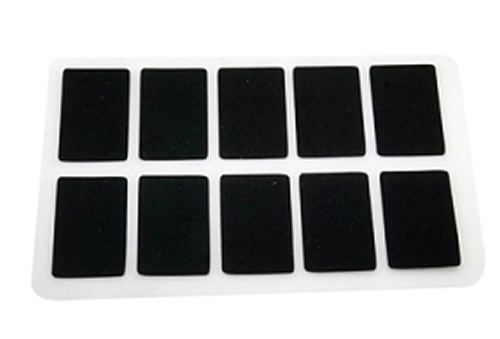 silicone sheets 25x15x0,3mm