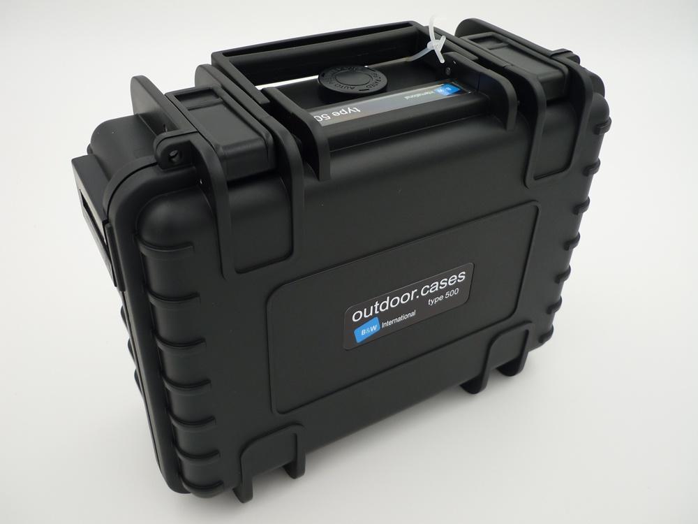 suitcase for CG Wizard, splash-proof