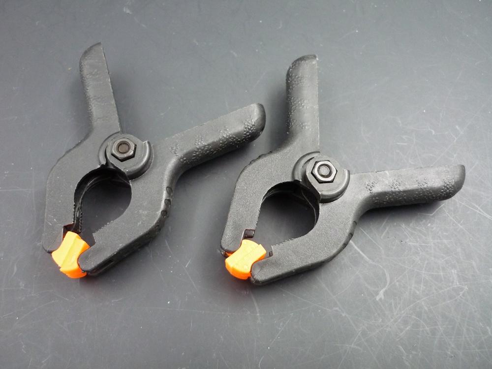 small plastic-steel clip, 55 mm