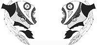 214th Sq. A.E.F. (Indianer) Staffelabzeichen 1:4