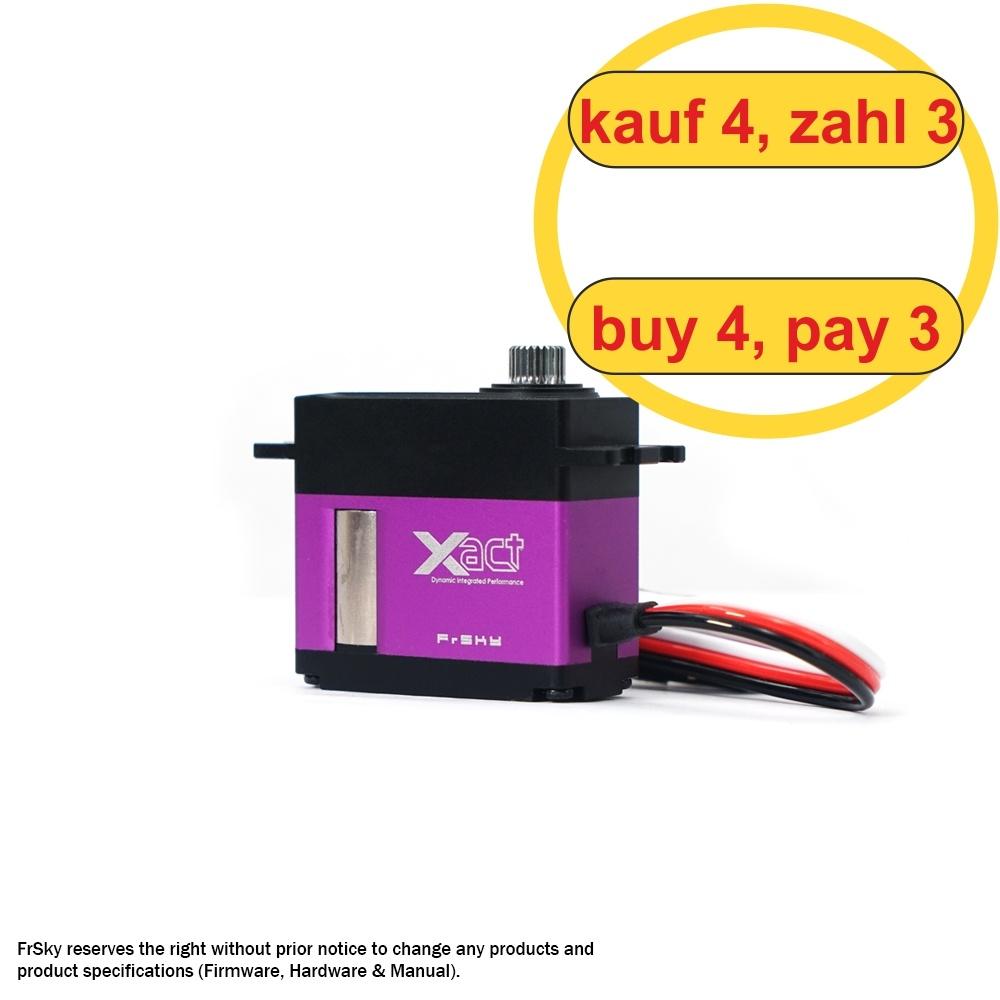 FrSky Xact Midi Servo HV 5301 (4 pcs) (4 for 3)