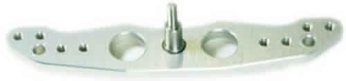alu-rudder tray arm 76/89 mm 4-40