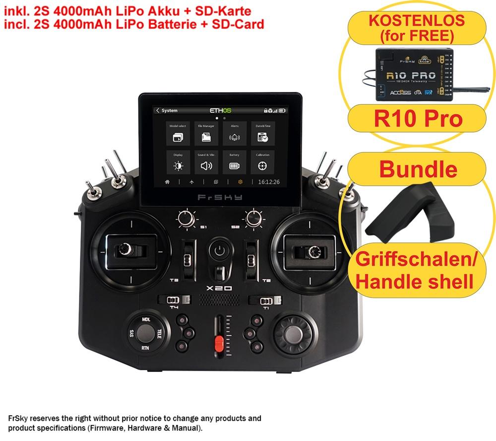 TANDEM X20 EU/LBT FrSky transmitter black 2,4Ghz