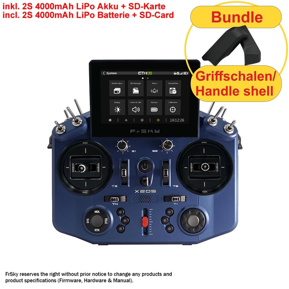 TANDEM X20S EU/LBT FrSky transmitter blue 2,4Ghz