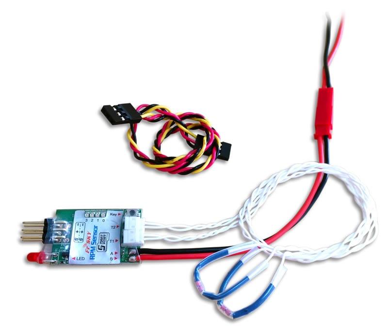 Smart Port RPM Sensor mit 2 Temperatur Sensoren