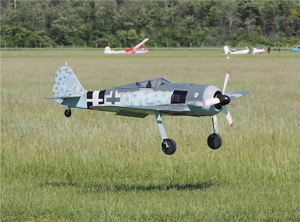 FOCKE-WULF 190 A8 1:4 Composite fuselage