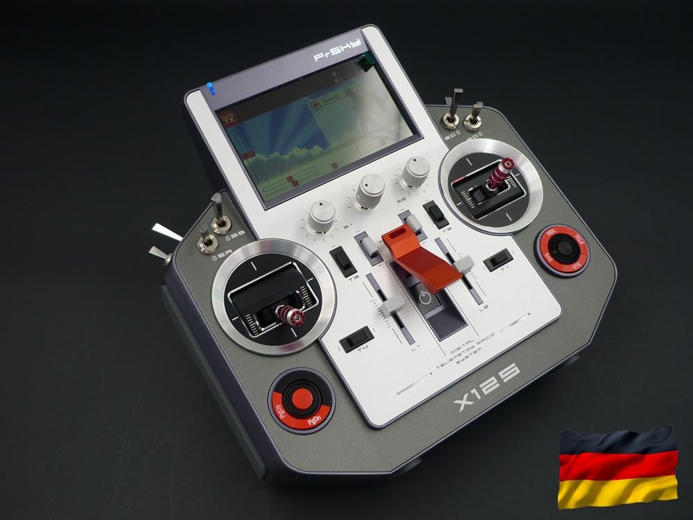 Horus X12S EU/LBT silver FrSky Sender, dt. Menüführung