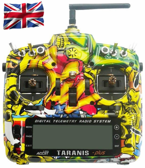 TARANIS X9D-plus EU/LBT FrSky Rock Monster Special-Edition
