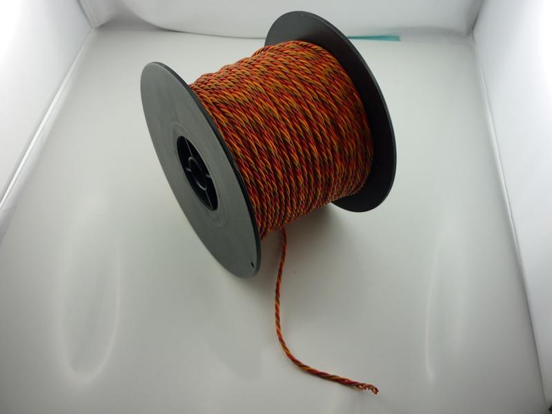!Kabel JR  3x0,25mm lose gedrillt