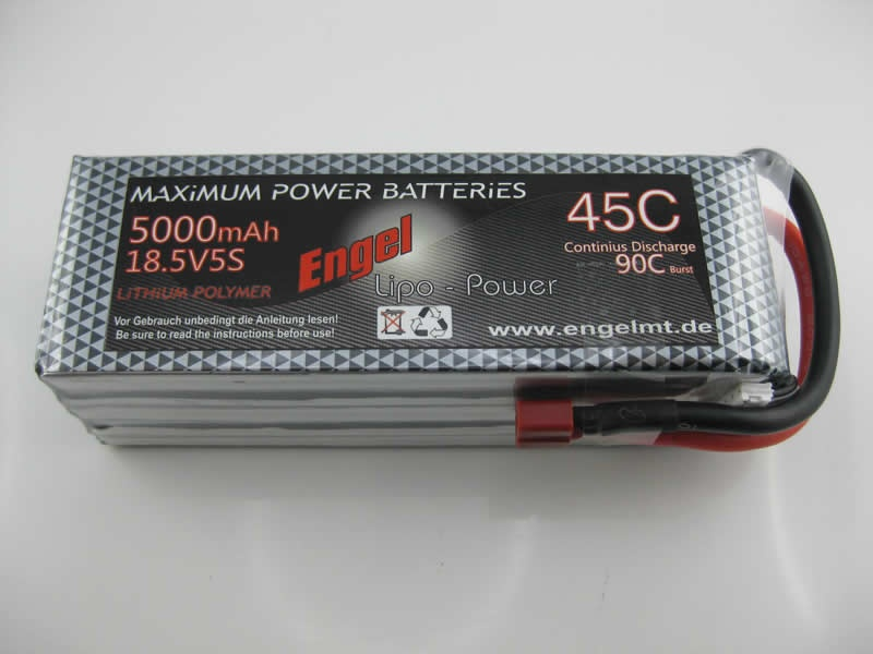 Engel-Lipo-Power 5000 18,5V, 45/90C