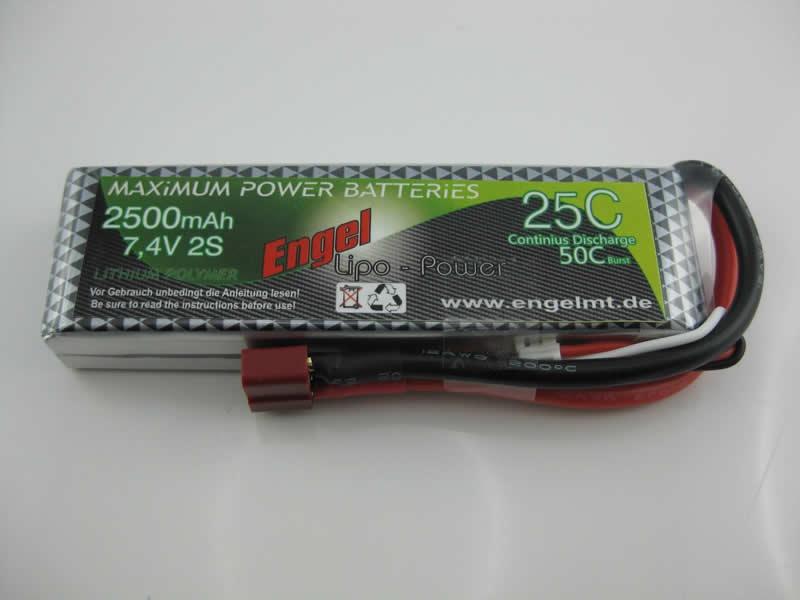 Engel-Lipo-Power 2500 7,4V, 25/50C