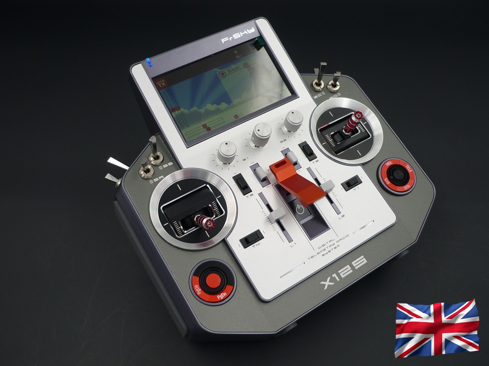 HORUS X12S EU/LBT silver FrSky transmitter with travelcase