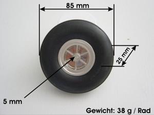 Leichträder 85 mm