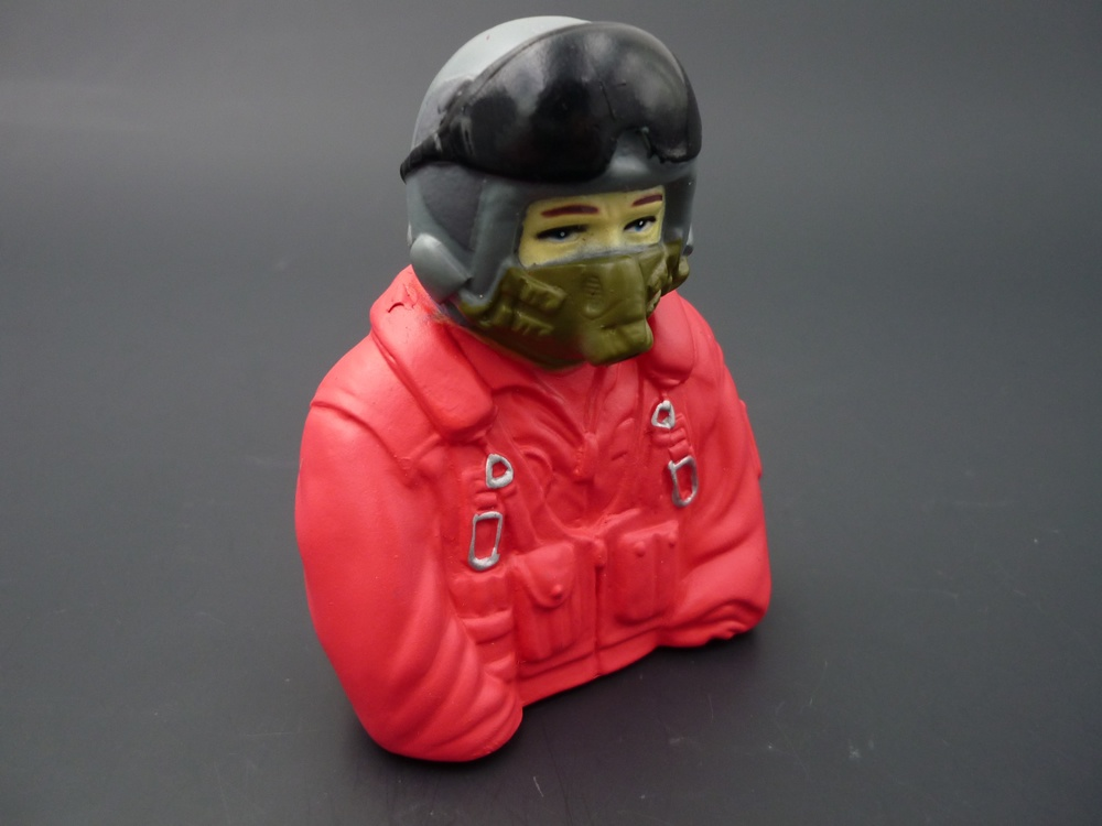 bust Jet pilots 1/7 green/red
