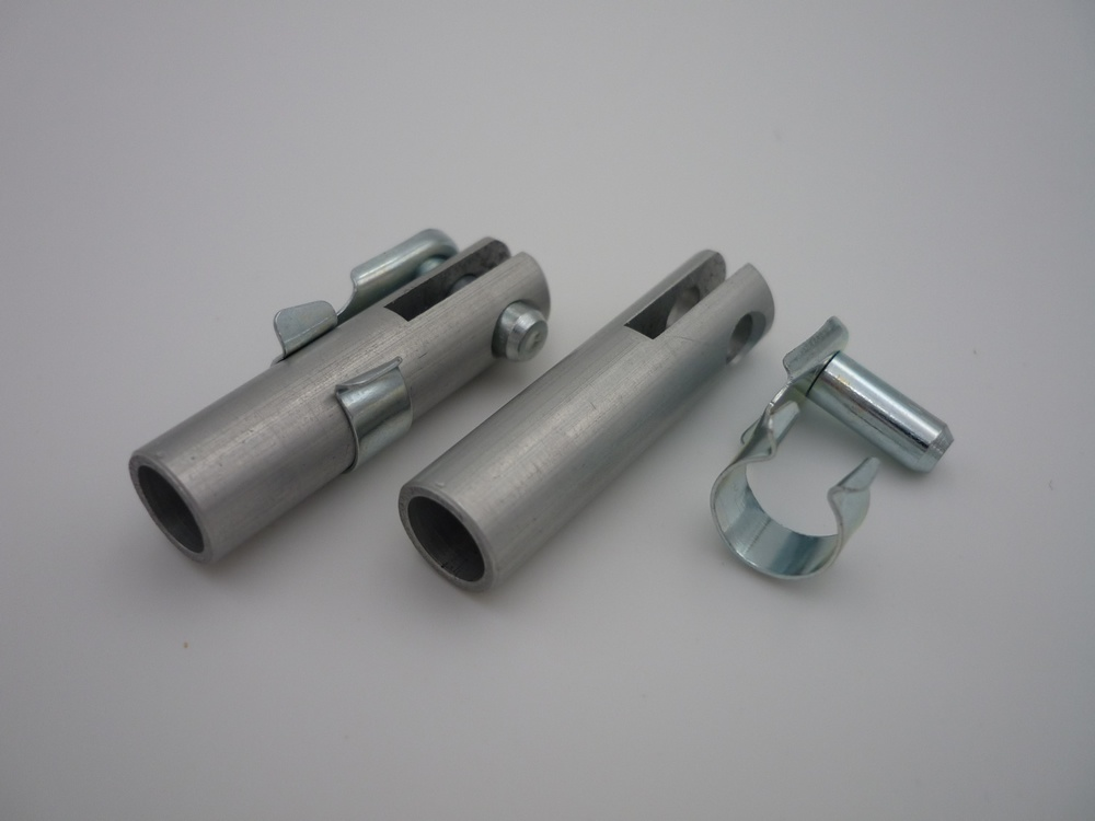 Alu-clevis 6 mm drilling