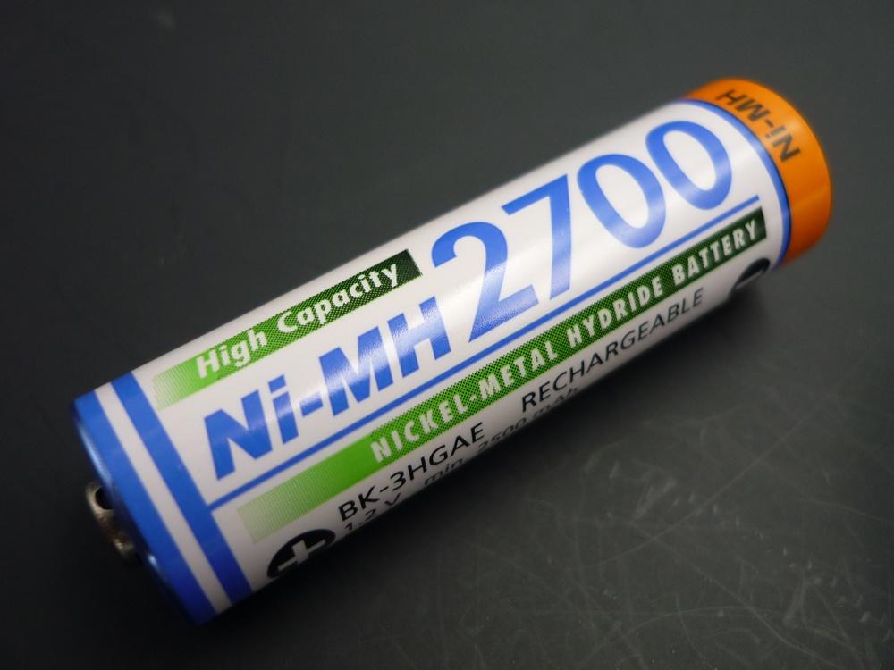 Sanyo AA 2700 mAh Mignon E/BF1 2700