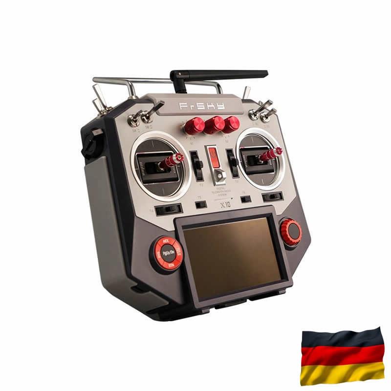Horus X10S EU/LBT Silver FrSky Sender, dt. Menüführung