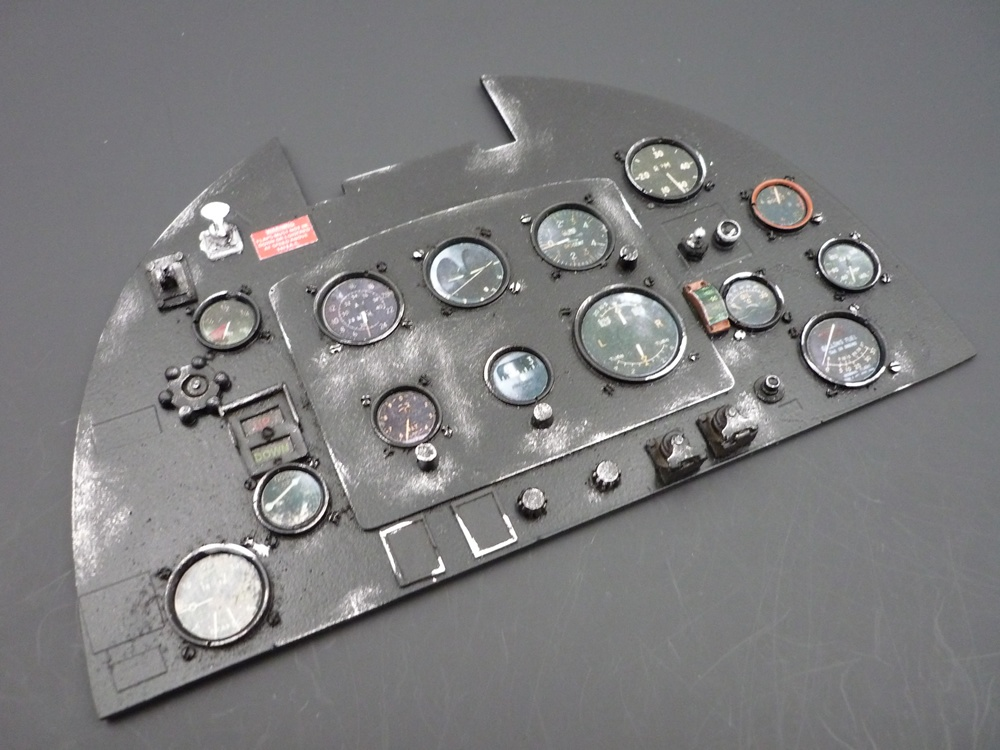 instrument panel Spitfire 1/5