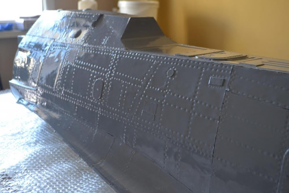 FOCKE-WULF 190 A8 1:4 Composite fuselage only