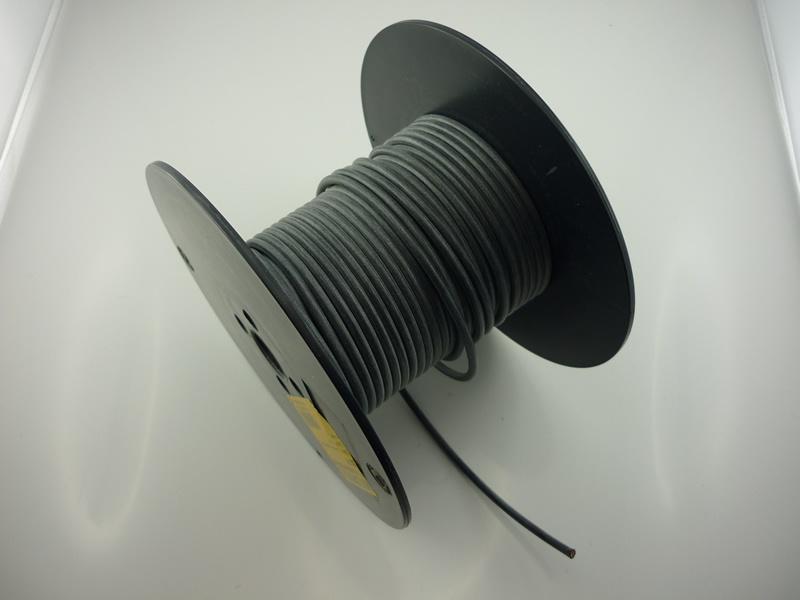 Kabel SILIKON 6,0 qmm, schwarz