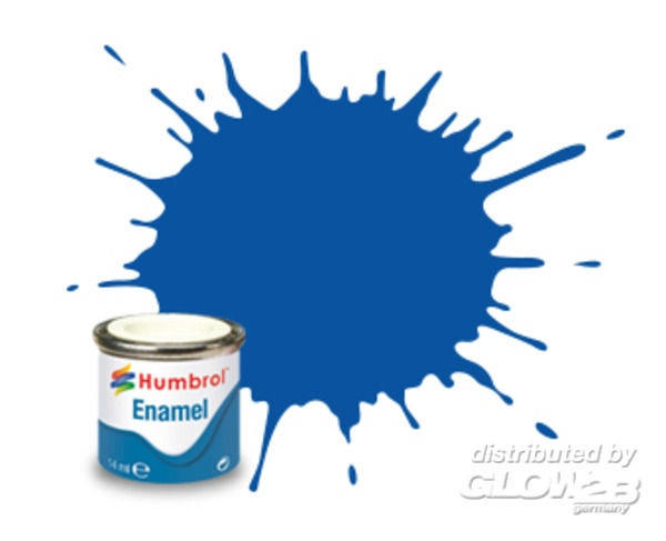 French Blue Gloss - 50ml Enamel Paint