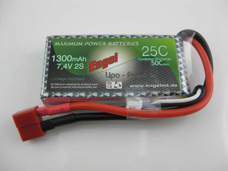 Engel-Lipo-Power 1300 7,4V, 25/50C