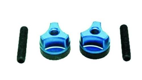 Tragflächenschrauben blau M6
