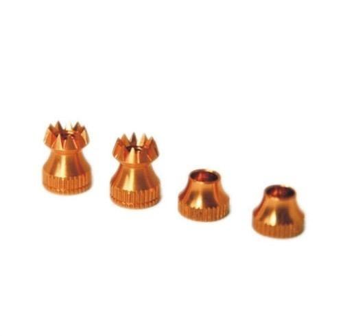 Knüppelgriffe V2 JR(nicht HOTT)/Spek/X9E/Horus gold
