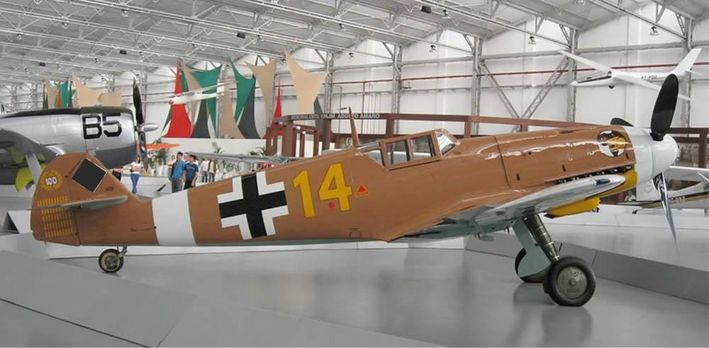 MESSERSCHMITT BF 109 F 1:5 Wooden kit