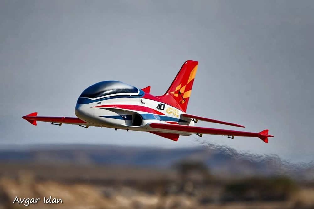 TopRC Sport Jet Aspire Rot 78,5 ARF