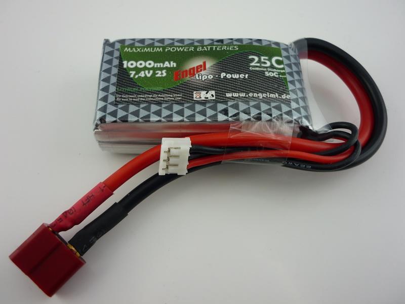 Engel-Lipo-Power 1000 7,4V, 25/50C
