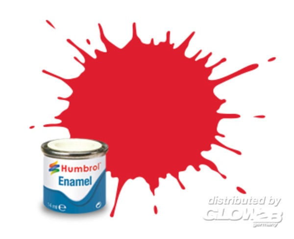 Bright Red Gloss - 50ml Enamel Paint