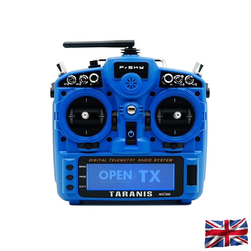 TARANIS X9D plus 2019 EU/LBT FrSky Senderset Sky Blue 2,4Ghz