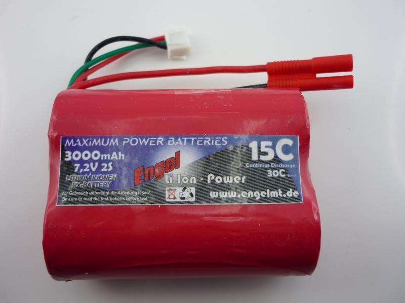 EM-RX-Power LiIon 2N 3000 mAh, 7,2V
