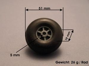 Leichträder 51 mm