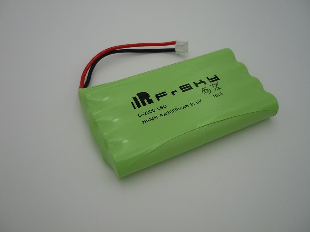 Taranis X9E/HORUS X12S Senderbatterie 2000 mAh NimH