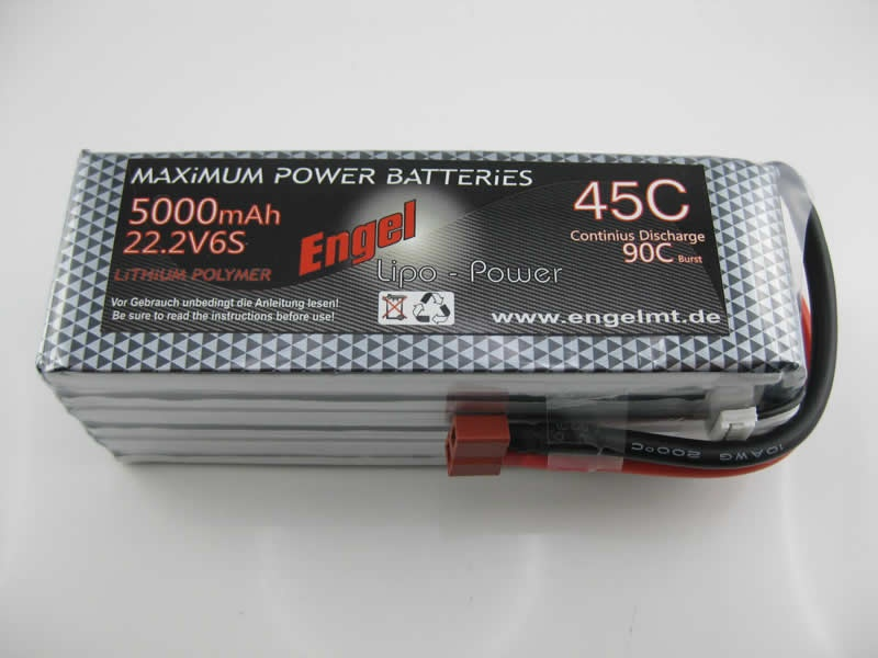 Engel-Lipo-Power 5000 22,2V, 45/90C