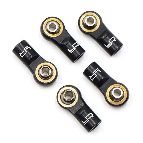 Aluminium M3 Kugelköpfe Linksgewinde schwarz (5 Stück)