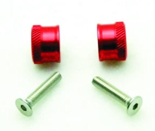 Tragflächenschrauben rot M4