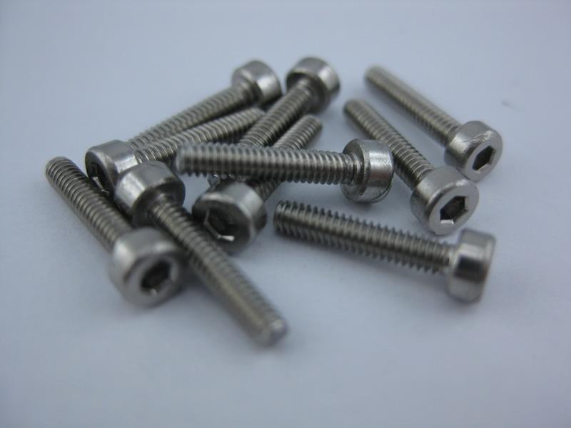 Cylinder Screws, Socket Drive M2x16