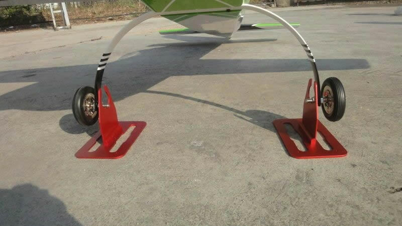 wheel stand for wheels up to 127mm