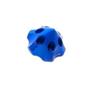 Alu-3D-Spinner large blau
