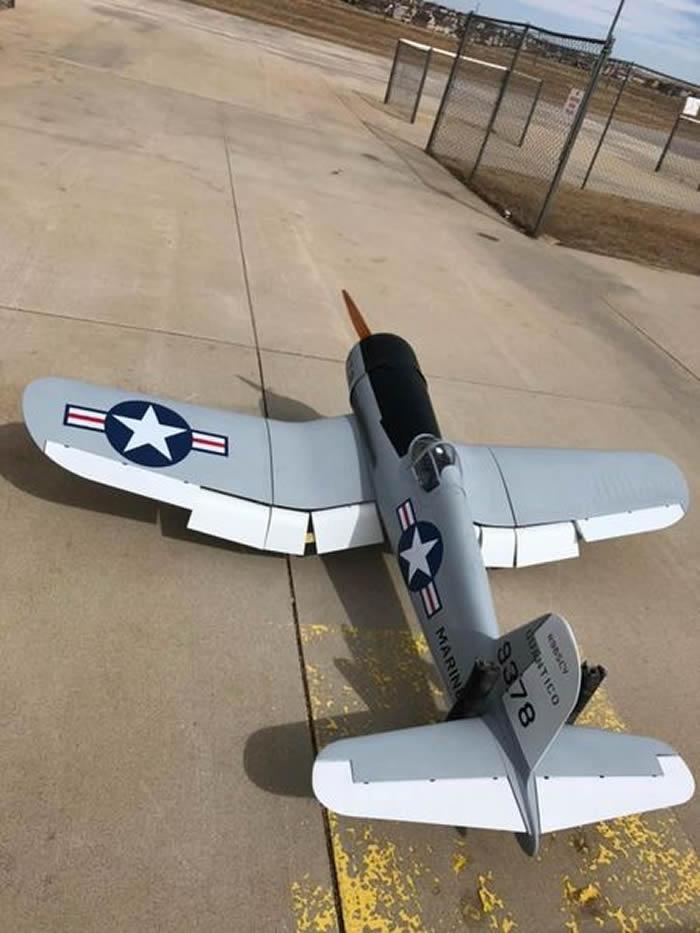 TopRC F4U Corsair, marines  93 ARF