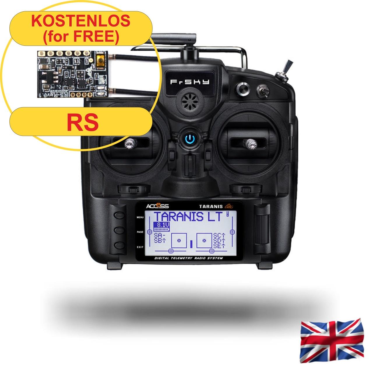 TARANIS X9 Lite EU/LBT FrSky transmitter black
