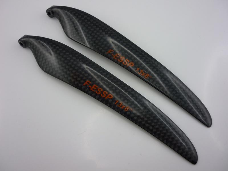 Carbon Folding Props 13,0x8,0