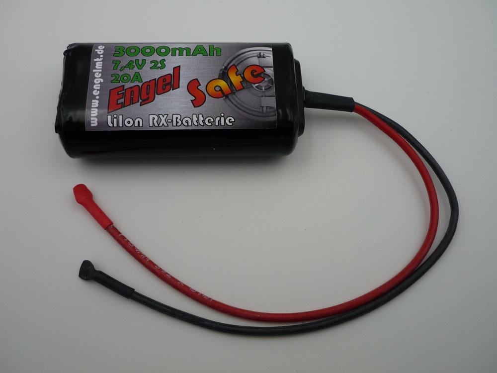 Empfängerakku SAFE LiIon 2S/3000mAh