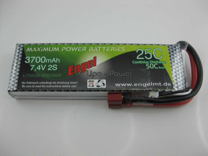 Engel-Lipo-Power 3700 7,4V, 25/50C