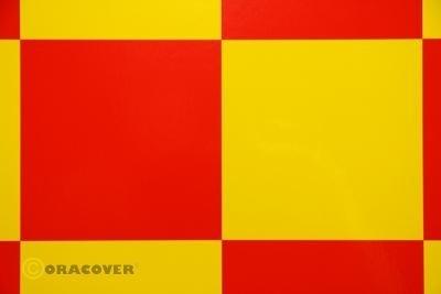 ORACOVER FUN 6 yellow - red