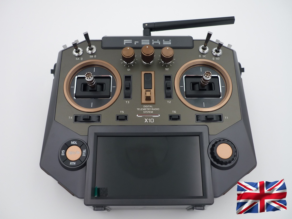 Horus X10 EU/LBT Amber FrSky Senderset mit EVA-Bag