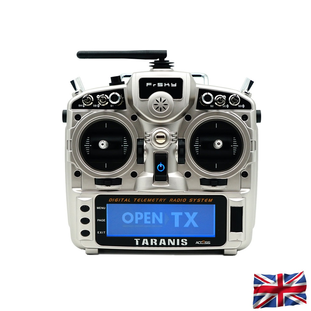 NEU TARANIS X9D plus 2019 EU/LBT FrSky transmitter Silver with SD-card,  without accu, german language